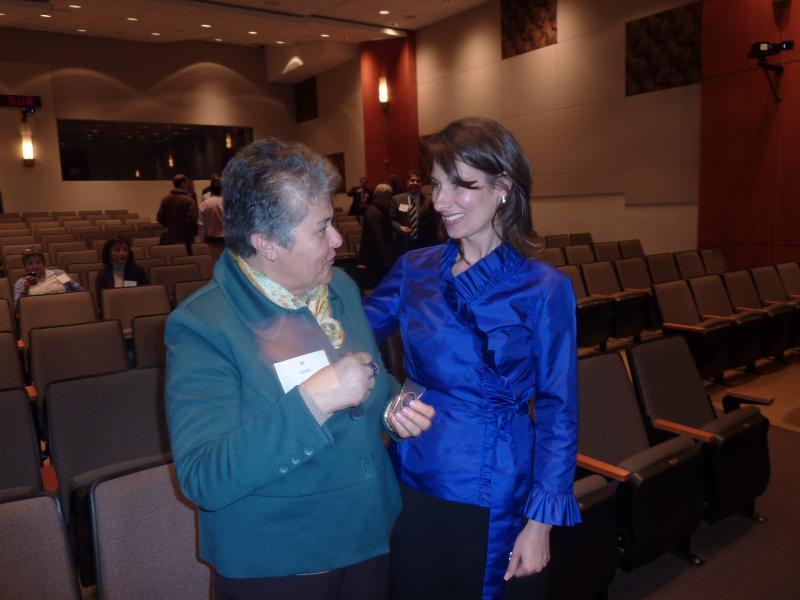 Presidenta de la NTSB y Presidenta de la AVJK5022
