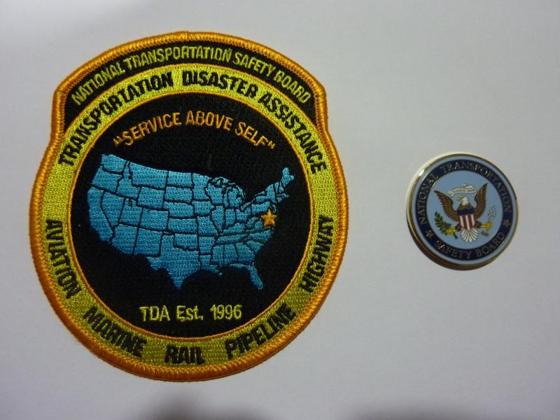 Insignias de la NTSB